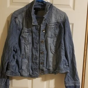 Jean Jacket plus size